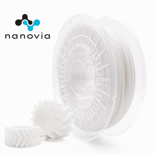 nanovia pc ptfe filament à impression 3D à faible coefficient de frottement